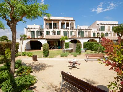 Photo for Casa 47 fabulous gardens, sea-views, twin pools & beach at just 200m