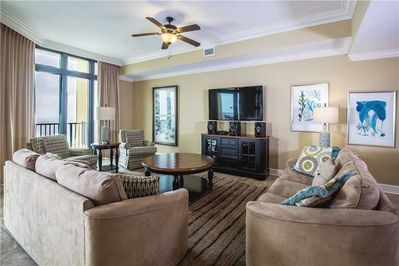 Living room-Phoenix West II 2309-Orange Beach, AL