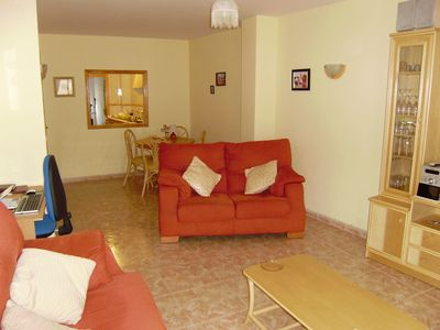 Photo for A lovely apartment located in the beautiful village of Facheca. Great for walks