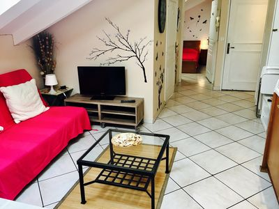 Photo for Nice apartment / Nice center / air conditioning + Wi-Fi. 5 min from the sea / FLAT CLOSE TO SEA