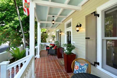 Relax on the front porch of this beautiful home!