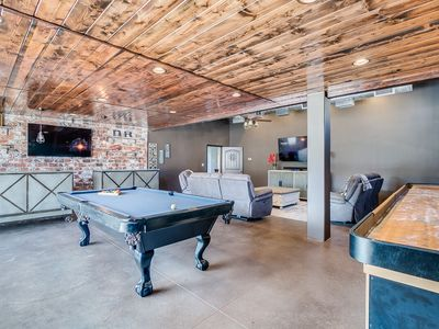 Photo for Beach Volleyball Court, Private Hot Tub, Pool Table and Shuffle Board, Patio Furniture and BBQ