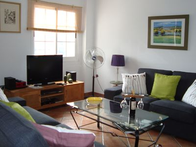 Photo for Lovely 2 Bed/2 bath Apartment with village location in Competa. Free 60mbps WIFI