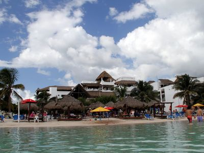 Photo for Luxury Beach Condo with views of Caribbean Sea in heart of Mahahual - Costa Maya