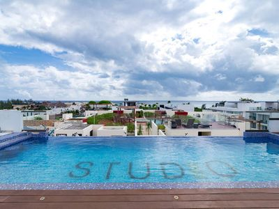 Photo for Studio One - New condo! Bright and airy 2 bedr. - Rooftop pool!