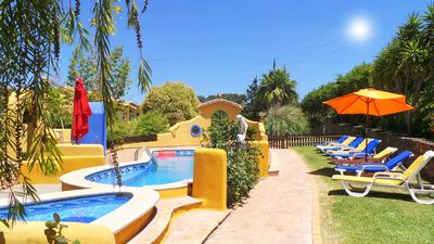 Photo for Half hectare property, 6 comfort rooms w/private AC&Bathroom, garden, pool, 4-12 persons