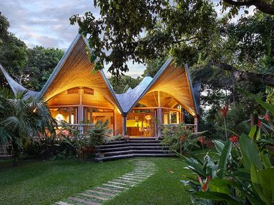 Photo for VILLA SE7E - WOOD AND BAMBOO HOUSE- A romantic charming house hidden in nature.