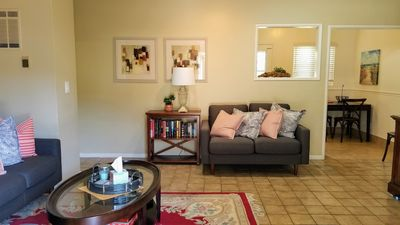 Photo for Cozy Monthly+ Rental At The Beach, Perfect For Transition Home!