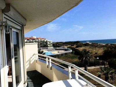 Photo for Apartment 6 pers. sea view - 3 rooms 6 persons