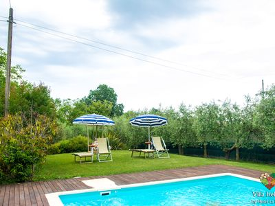 Photo for Duplex with private outdoor swimming pool