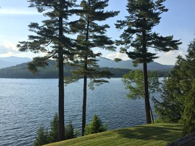 Photo for Historic Estate on East Shore of Lake Placid