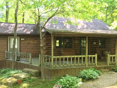Photo for Creekside Cabin, 1.5 miles from Patoka Lake State Park, Free Park Pass
