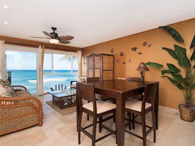 Photo for Amazing Oceanfront Condo with AIR CONDITIONING
