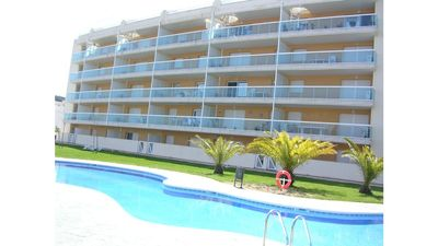 Photo for OFFER SALOU, AIR CONDITIONING,  TERRACE, SEA VIEW, SWIMMING POOLS, PARKING, WIFI