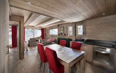 Photo for Courchevel 1850 - Beautiful apartment in the center of the ski resort for 4 people