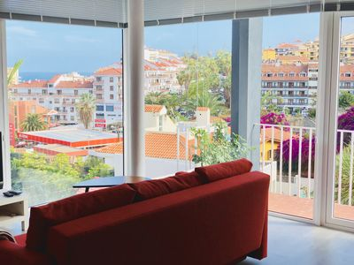Photo for Beautiful Individual house with amazing views in down town of Puerto de La Cruz