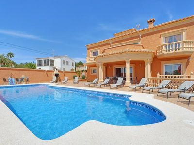 Photo for 5 bedroom Villa, sleeps 11 with Pool, Air Con, FREE WiFi and Walk to Shops