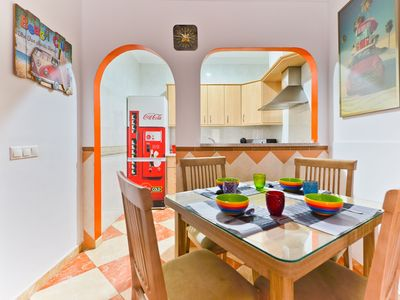 Photo for Charming Apartment Torrex 6 Close to the Beach with Wi-Fi, Balcony & Terrace