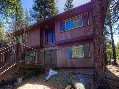 Photo for Gorgeously updated home SO close to all the Tahoe fun! Now booking for winter!
