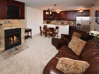 Photo for Luxury Condo steps from free Vail Bus Shuttle, One Bedroom One Bathroom,