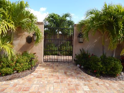 Photo for Elegant Villa 4bed/4bath Stunning view Walk to beach AC throughout Private pool