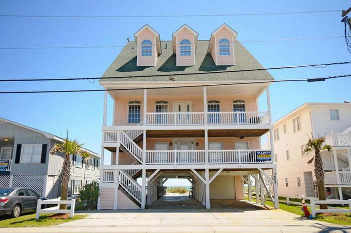 Oceanfront House Rentals North Myrtle Beach With Pool
