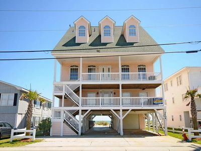 Photo for 52 Week High, Luxury Oceanfront House with a pool, Downstairs Only