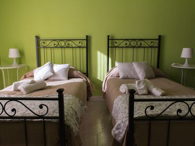 Photo for TULIP ROOM WITH BALCONY IN APARTMENT NEAR SAN PIETRO up to TWO PEOPLE