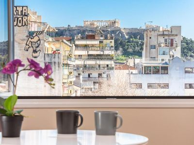 Photo for Incredible Acropolis View Flat!