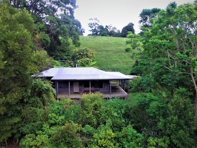 Photo for Self contained, 1 bedroom cabin - waterfalls, rainforest, wildlife, walk tracks