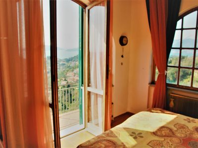 Photo for Il Monte - Sea view rooms on the hills of Lerici