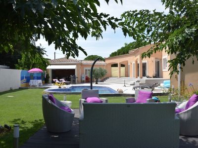 Photo for In Cap d'Agde, luxury villa close to the sea
