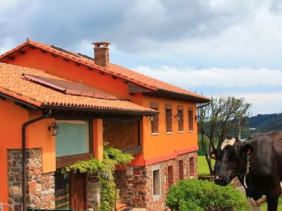 Photo for OFFER Rural house near Gijon, next to the sea, ideal environment for children.