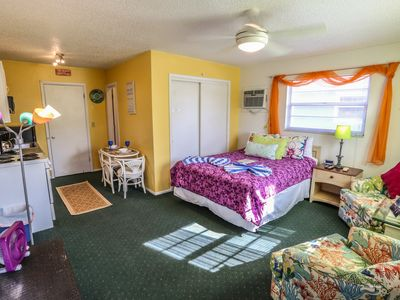 Photo for The Beach Bungalow is a studio apartment within a four plex at Iguana Mama's Beach House with the amenities of home
