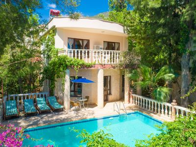 Photo for Villa Daisy : Large Private Pool, Walk to Beach, A/C, WiFi, Car Not Required, Eco-Friendly