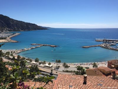 Photo for Enjoy a beautiful 2 rooms close to the sea, downtown Menton