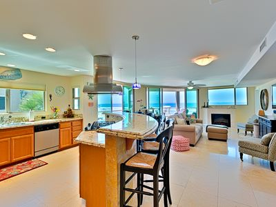 Photo for Ocean Front Luxury 2nd Flr in N. Mission Beach - Ocean Front Master