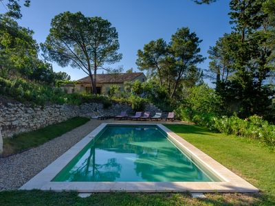 Photo for Li Ferigoulo, renovated luxury house (AC, pool, 1.5 acre olive orchard)
