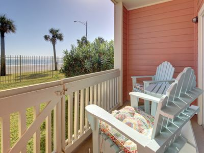 Photo for Welcoming condo w/ shared pool, private patio, & oceanfront views