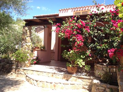 Photo for Wonderful villa a few steps from the sea !!