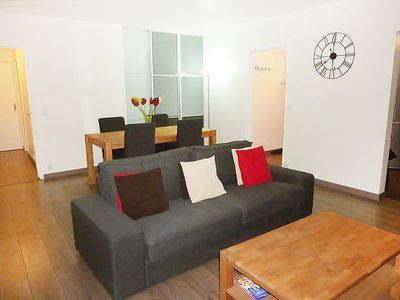 Photo for Apartment Emile Zola in Paris/Asnières-sur-Seine - 6 persons, 3 bedrooms