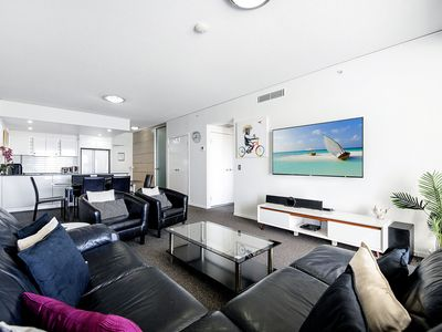 Photo for Modern 3 bed Broadbeach Apartment - Free parking