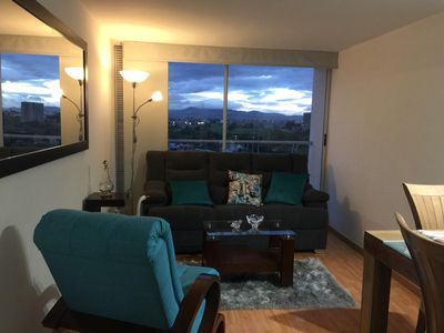 Photo for Apartment Brand new, sky view stay in Bogota.