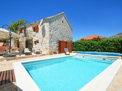 Photo for This 2-bedroom villa for up to 5 guests is located in Marina and has a private swimming pool, air-co