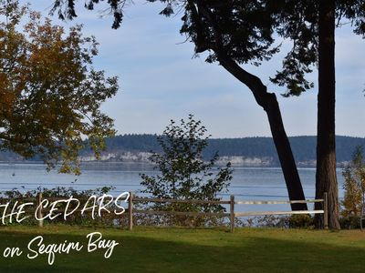 Spectacular Waterfront Living at The Cedars on Sequim Bay  Family Friendly Waterfront Home with Beach Access, Professionally Cleaned