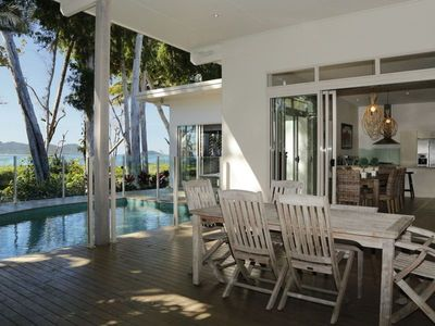 Photo for The Boat House - Absolute Beachfront Paradise