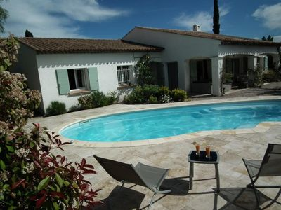 Photo for summer rental villa with pool in Fréjus