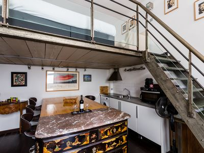 Photo for Charming apartment sleeps up to 3 people moments from the Notre Dame