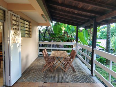 Photo for 1BR Apartment Vacation Rental in Le Lamentin