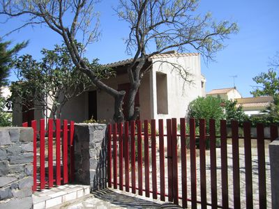 Photo for CAP D'AGDE - villa Mourastel located 950m from the beach - fenced garden